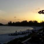 "tramonto nella spiaggia ""blu lagoon"", watamu"